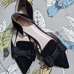 Black Bow H&M Flats (9/39)